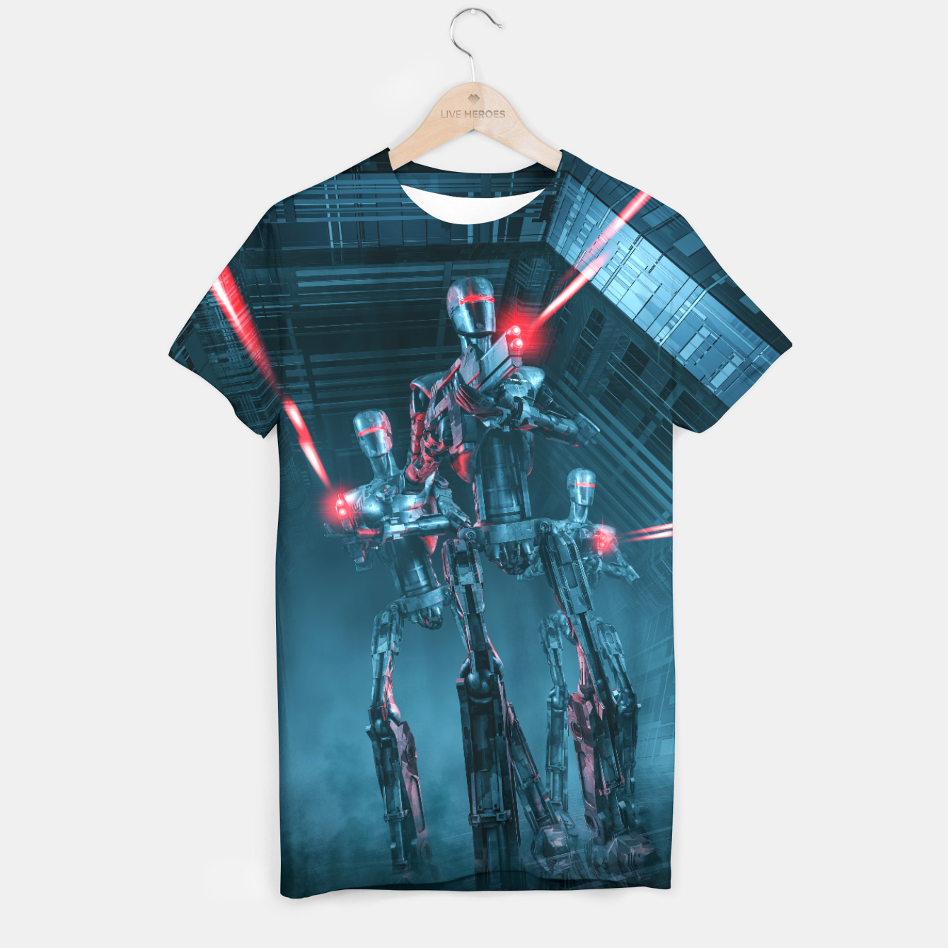 Image of The Assault T-shirt - Live Heroes