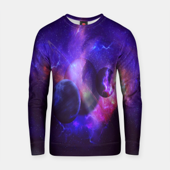 Thumbnail image of Planetary wings  Cotton sweater, Live Heroes