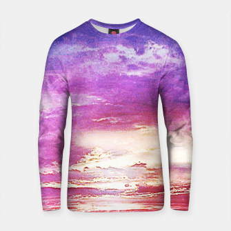 Thumbnail image of Sunset skies Cotton sweater, Live Heroes