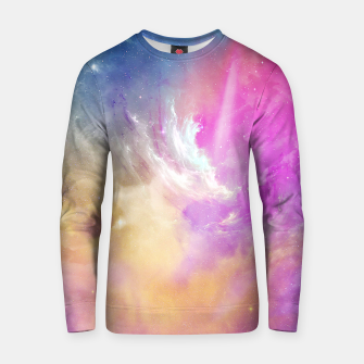 Thumbnail image of Galactic waves Cotton sweater, Live Heroes