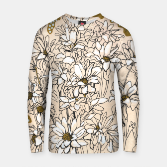 Daisy Chrysanthemum  Cotton sweater thumbnail image