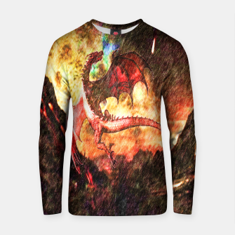 Thumbnail image of Dragon's fire Cotton sweater, Live Heroes