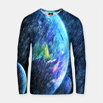 Thumbnail image of Far out there  Cotton sweater, Live Heroes