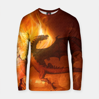 Thumbnail image of Dragon's world Cotton sweater, Live Heroes