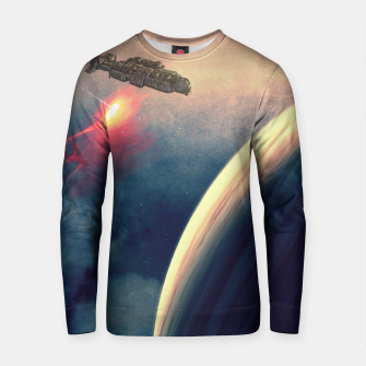 Thumbnail image of Excursion through time Cotton sweater, Live Heroes
