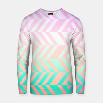 Thumbnail image of Chevron pattern Cotton sweater, Live Heroes