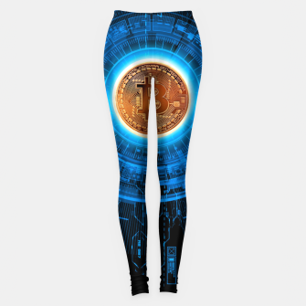 Thumbnail image of BITCOIN-CRYPTO Leggings, Live Heroes