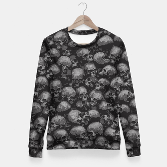 Thumbnail image of Totally Gothic Woman cotton sweater, Live Heroes