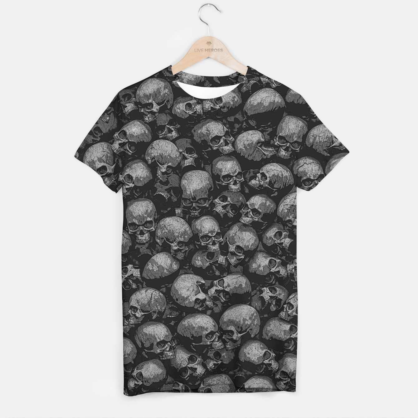 9a6259e4 Totally Gothic T-shirt, Live Heroes