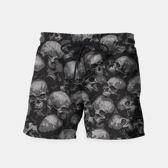 Thumbnail image of Totally Gothic Swim Shorts, Live Heroes