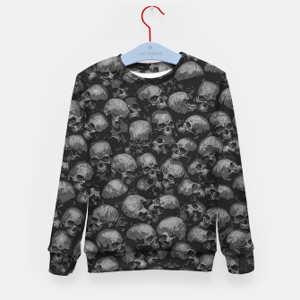 Thumbnail image of Totally Gothic Kid's sweater, Live Heroes