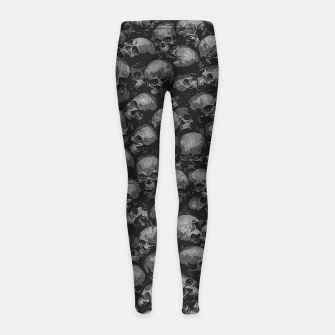 Thumbnail image of Totally Gothic Girl's leggings, Live Heroes