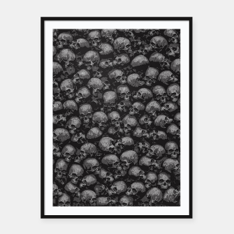 Thumbnail image of Totally Gothic Framed poster, Live Heroes
