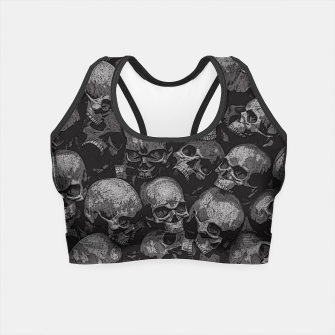 Thumbnail image of Totally Gothic Crop Top, Live Heroes