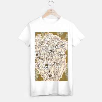 Thumbnail image of Daisy Chrysanthemum  T-shirt regular, Live Heroes