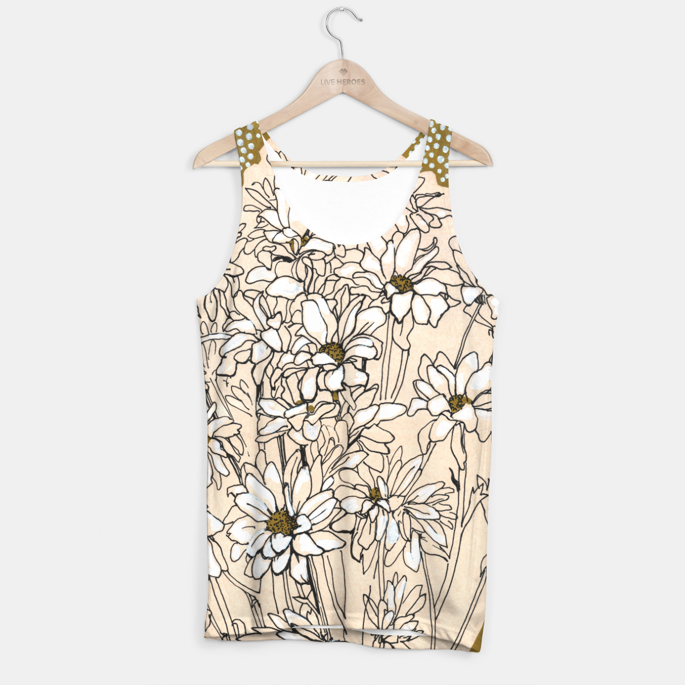 Image of Daisy Chrysanthemum  Tank Top - Live Heroes