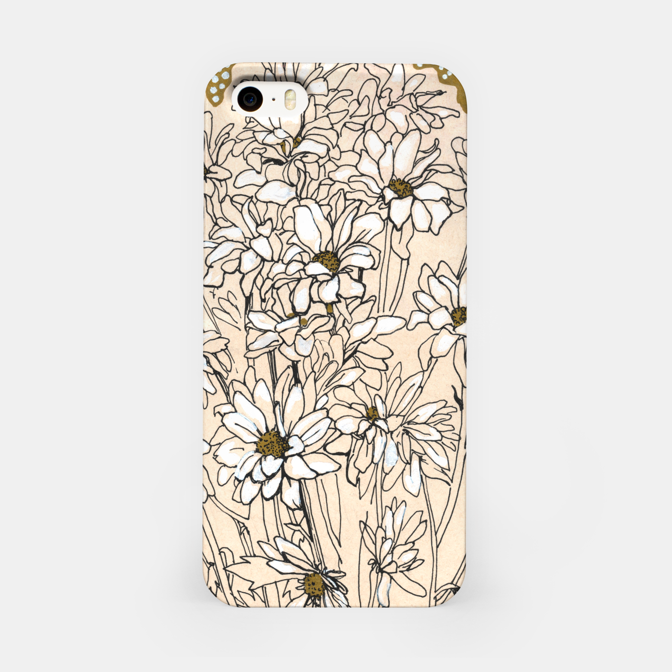 Image of Daisy Chrysanthemum  iPhone Case - Live Heroes