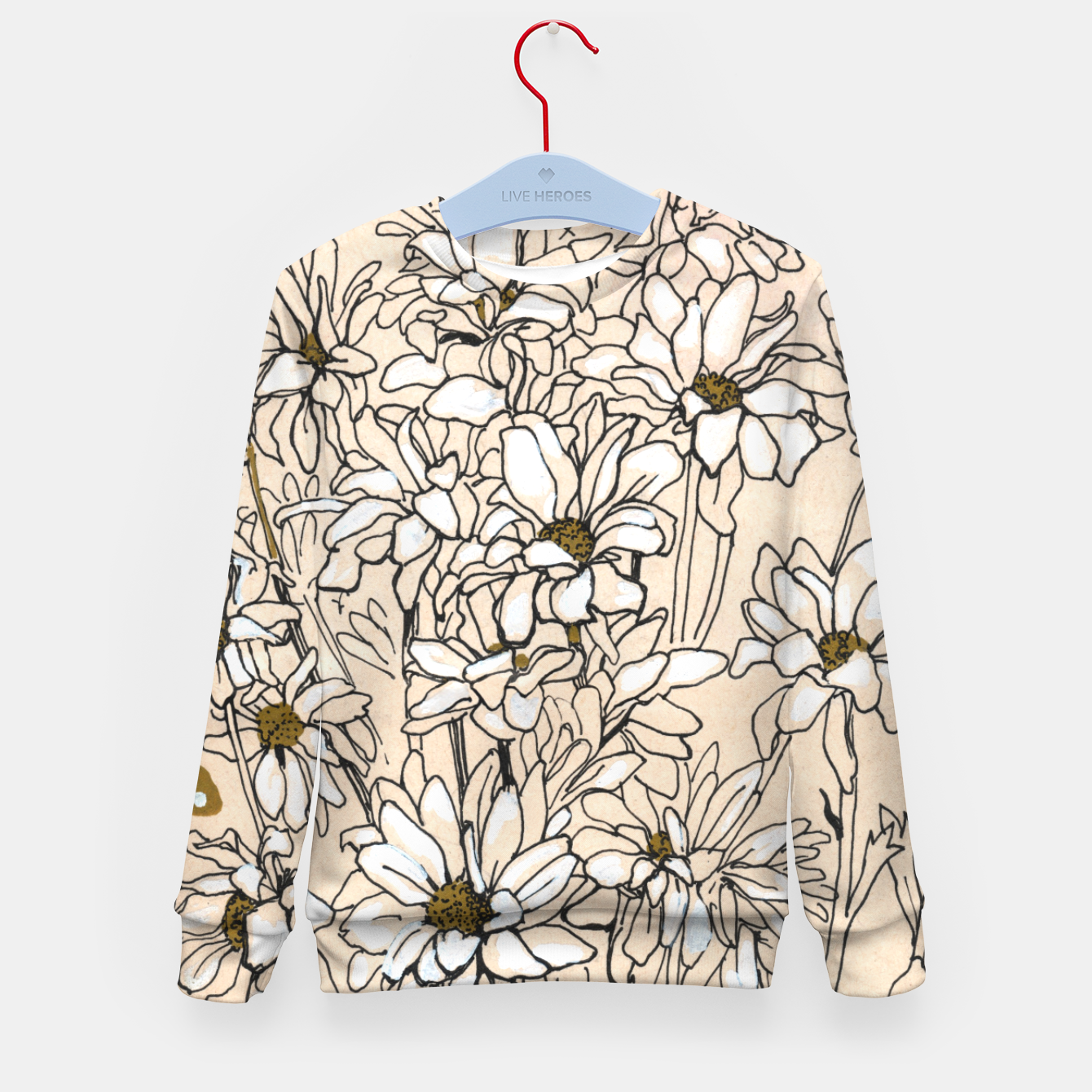 Image of Daisy Chrysanthemum  Kid's sweater - Live Heroes
