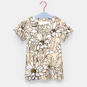 Thumbnail image of Daisy Chrysanthemum  Kid's t-shirt, Live Heroes