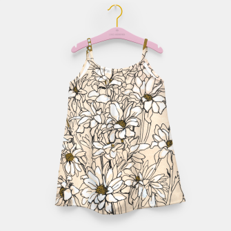 Thumbnail image of Daisy Chrysanthemum  Girl's dress, Live Heroes