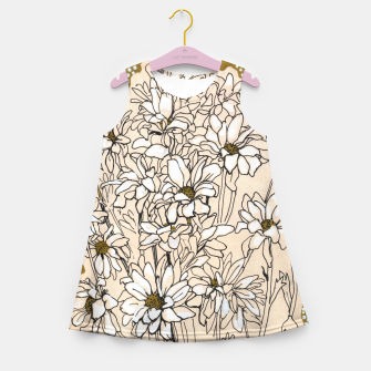 Thumbnail image of Daisy Chrysanthemum  Girl's summer dress, Live Heroes