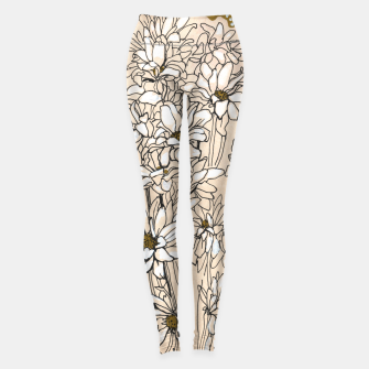 Daisy Chrysanthemum  Leggings thumbnail image