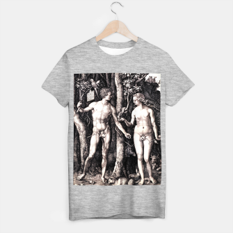 Miniaturka Albrecht Dürer-Adam and Eve T-shirt regular, Live Heroes