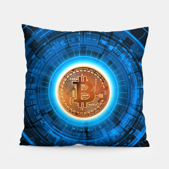 Thumbnail image of BITCOIN-CRYPTO Pillow, Live Heroes
