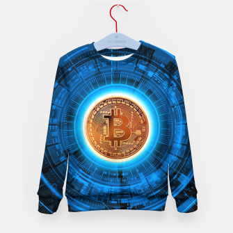 Thumbnail image of BITCOIN-CRYPTO Kid's sweater, Live Heroes