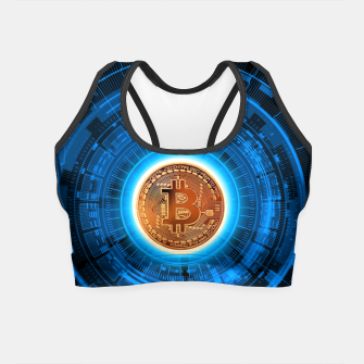 Thumbnail image of BITCOIN-CRYPTO Crop Top, Live Heroes