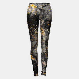 Miniature de image de Black Gold Galaxy Leggings, Live Heroes