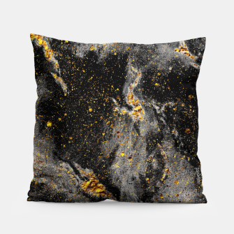 Thumbnail image of Black Gold Galaxy Pillow, Live Heroes