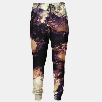 Hidden dog Cotton sweatpants Bild der Miniatur