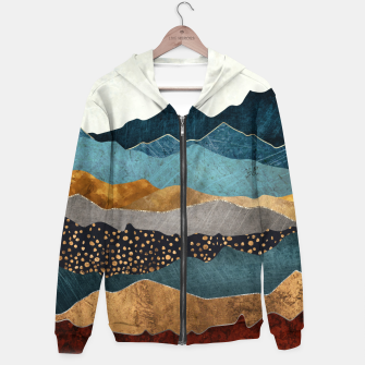Miniatur Amber Dusk Cotton zip up hoodie, Live Heroes