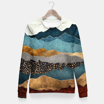 Miniatur Amber Dusk Woman cotton sweater, Live Heroes