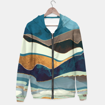 Thumbnail image of Autumn Hills Cotton zip up hoodie, Live Heroes