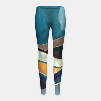 Thumbnail image of Autumn Hills Girl's leggings, Live Heroes