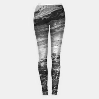Thumbnail image of Abstract Painting Legginsy, Live Heroes