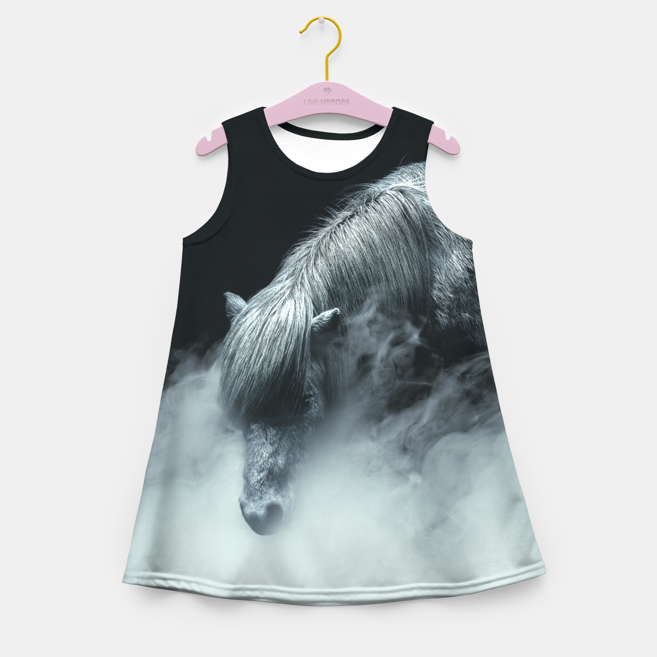 Image de Things change Girl's summer dress - Live Heroes
