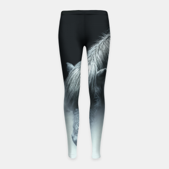 Thumbnail image of Things change Girl's leggings, Live Heroes