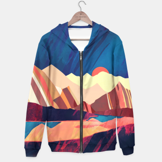 Desert Valley Cotton zip up hoodie Bild der Miniatur