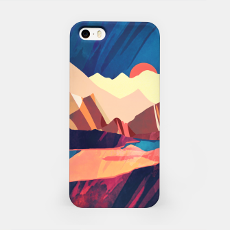Desert Valley iPhone Case Bild der Miniatur