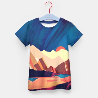 Desert Valley Kid's t-shirt Bild der Miniatur