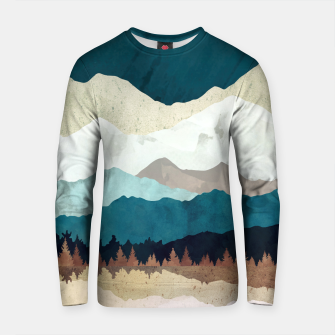 Thumbnail image of Fall Forest Night Cotton sweater, Live Heroes