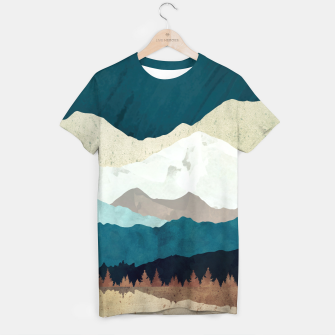 Thumbnail image of Fall Forest Night T-shirt, Live Heroes