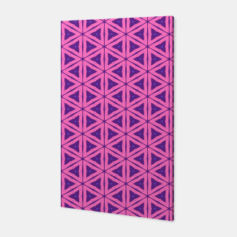 Miniaturka abstract geometric pattern Canvas, Live Heroes