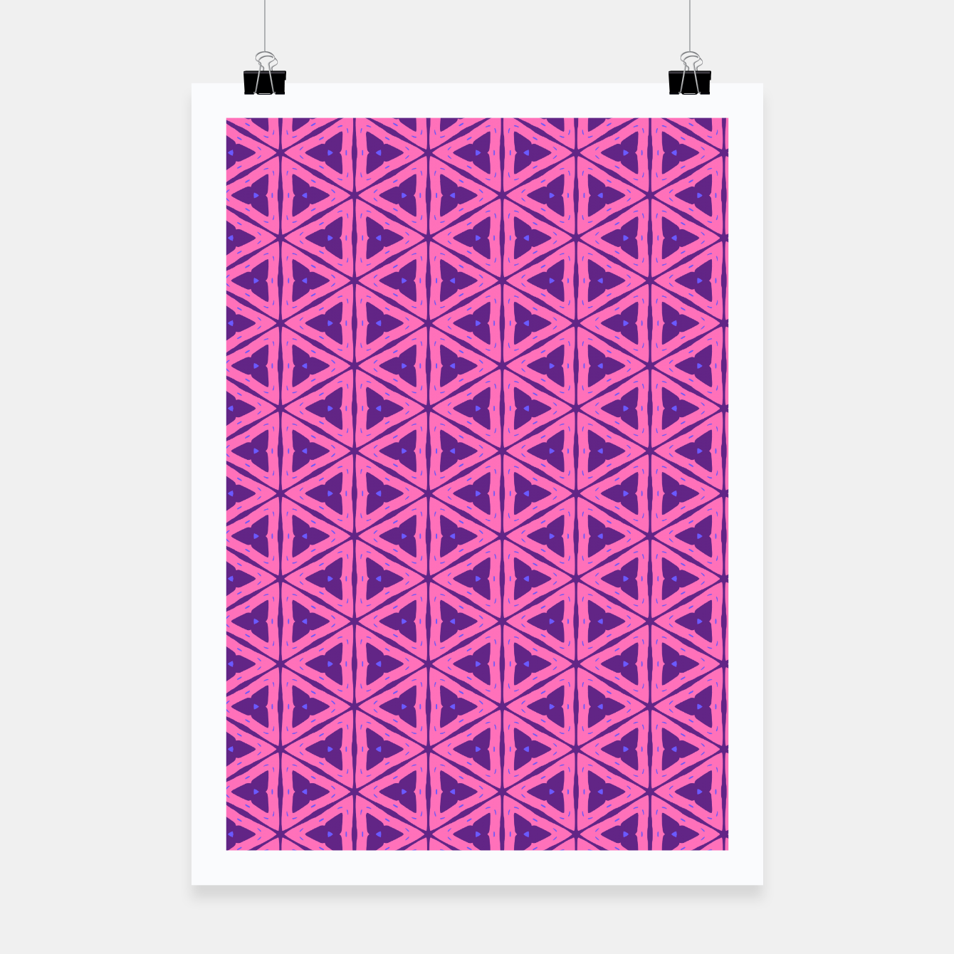 Zdjęcie abstract geometric pattern Poster - Live Heroes