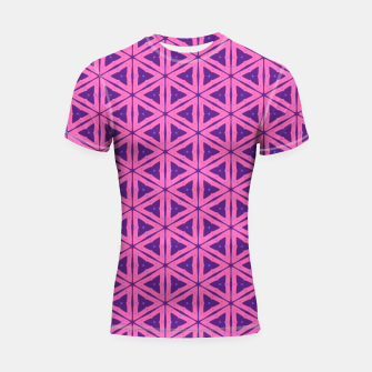 Miniaturka abstract geometric pattern Shortsleeve rashguard, Live Heroes