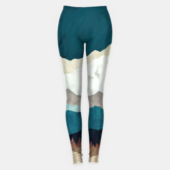 Thumbnail image of Fall Forest Night Leggings, Live Heroes