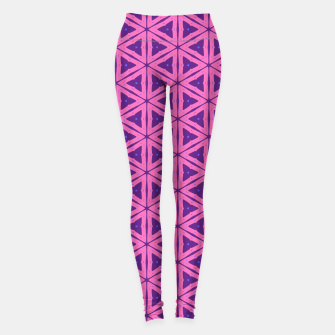 Miniaturka abstract geometric pattern Leggings, Live Heroes